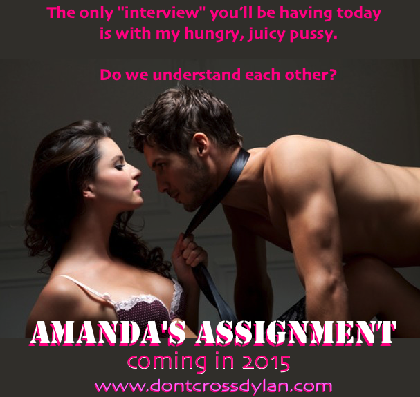 Advance teaser for the next book in the Amanda series...